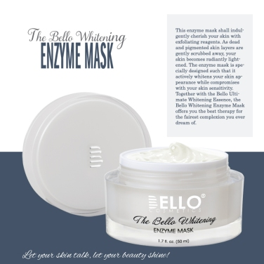 The Bello Whitening Enzyme Mask