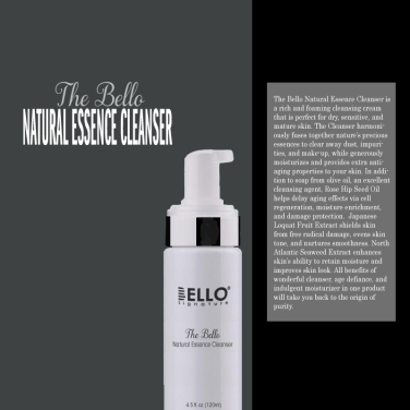 The Bello Natural Essence Cleanser