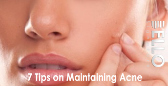 7 Tips on Maintaining Acne