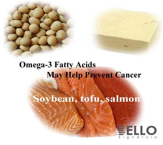 Omega-3 Fatty Acids May Help Prevent Cancer