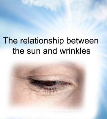 The relationship between the sun and wrinkles